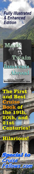 Innocents Abroad - The Best Cruise Book of the 19th, 20th, and 21st Centuries!